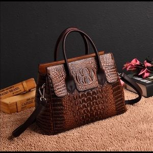 Genuine leather women's bag